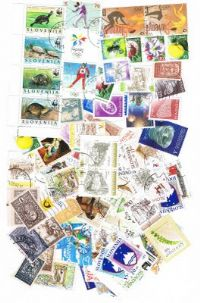 100 different Slovenia packet
